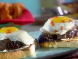Sunny Side Up Burger (don't forget your dill pickle on the side!)