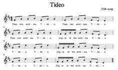 Beth's Music Notes: Tideo
