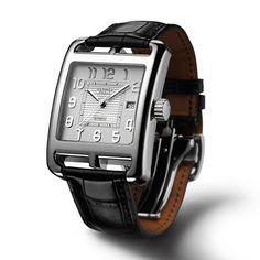Montres homme Hermès Cape Cod TGM Automatique http://www.vogue.fr/mariage/bijoux/diaporama/montres-au-masculin-homme-mariage/16313/image/881930#!montres-homme-mariage-hermes-cape-cod-tgm-automatique
