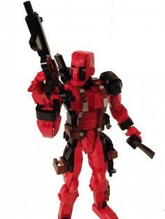 Deadpool LEGO Action Figure is Ready forAction