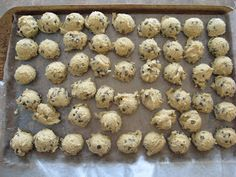All & Nothing: Chocolate Chip Cookie Dough Truffles