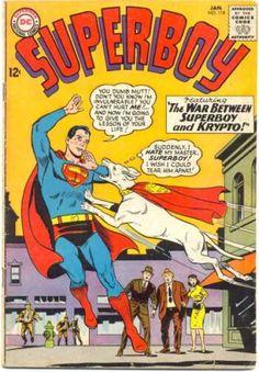 Dog - Superman - Krypto - Yellow - Curt Swan, Sheldon Moldoff
