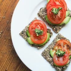 I Quit Sugar - Gluten-Free Seed Crackers by Nicole joy