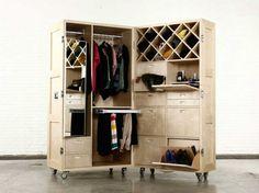 Naihan Li Des meubles très rationnels, empilables, mobiles, pliables, de cette designer qui vient de Beijing en Chine Je vous ai mis son site