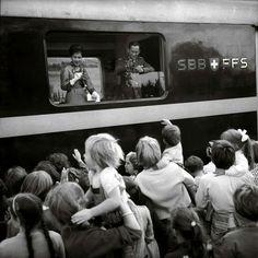 สวิตเซอร์แลนด์ | Switzerland ถ่ายเมื่อปีค.ศ.1960 (พ.ศ.๒๕๐๓) Image Source: L'illustré, Switzerland