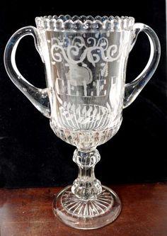19th century antique Celery Vase.