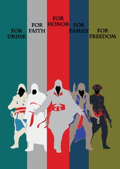 Assassin's Creed Poster by Pmaga on DeviantArt