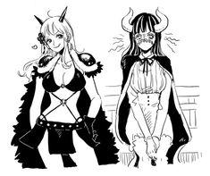 Manga Anime, Anime One, Anime Couples Manga, Cute Anime Couples, Manga Girl, Anime Girls, One Piece Crew, One Piece World, One Piece Ship