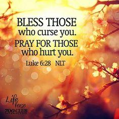 REDE MISSIONÁRIA: PRAY FOR THOSE WHO HURT YOU (LUKE 6:28)
