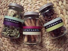 Finally a beautiful project for all my empty baby food jars - thanks to Ute from durbanville.design