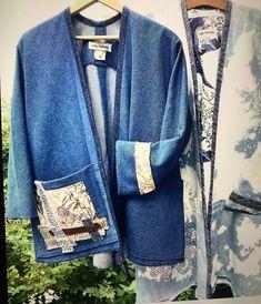 Kimono Top, Blazer, Jackets, Tops, Women, Fashion, Down Jackets, Moda, Fashion Styles