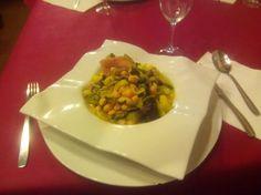Potaje de garbanzos. Restaurante Navarro de Pza Tetuán. #jornadasPOPCastellón