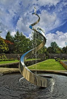 Image result for contemporary water sculptures canterbury