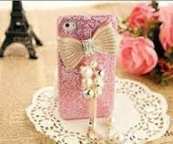 Handmade Bling Tassel style pearl bowknot cell phone case for iPhone 4 or Bling cover Bling Phone Cases, Diy Phone Case, Iphone 4, Iphone Cases, Tablet Cases, Art Perle, Walpaper Iphone, Cell Phone Covers, Cell Phone Accessories
