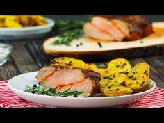 As pessoas deveriam sempre servir este prato trançado deste jeito. O segredo é trançar, marinar e pôr logo no forno!