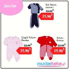 ZeroTen Baby %100 Türk malı olan ürünleriyle, farklı renkleri ve tasarımlarıyla Mucizebebe.com'da!