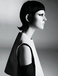 "Stella Tennant by Steven Meisel (""Starchitecture"") - (March 2013) - March 2013 - Fashion Editorials - All about fashion"