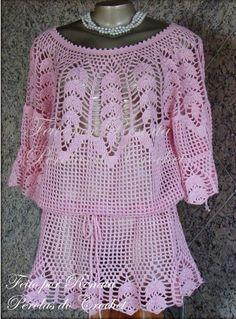* Pérolas do Crochet com pap