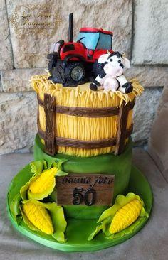 Cupcakes, Cupcake Cakes, Farm Cake, Picnic, Basket, Flowers, Desserts, Flower Pot Cake, Birthday