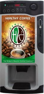 Healthy Coffee Vending Machine. New vending Machine is now here for more information 714-620-1100