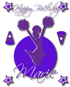 Cheerleading DIY Printable Party Pick Your by ClickableParty, $20.00