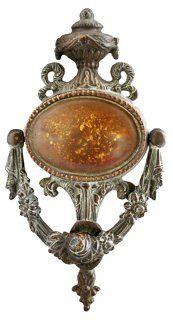 Brass Neoclassical Door Knocker
