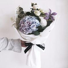 블루수국 꽃다발 : 라비에벨