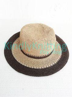 31da6c3dd2d Summer wide brim straw hats women Crochet floppy raffia sun hat with brim  for woman Summer