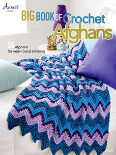 Maggie's Crochet · Big Book of Crochet Afghans, nice colors plus like the extra ruffle