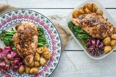 Cinnamon Chicken and Vegetable Tray Bake   Lucy Bee Coconut Oil