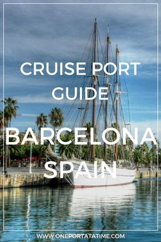 Cruising from Barcelona? Check out our port guide about how to make the most of your pre or post-cruise stay. The guide includes attractions, tours/excursions, cruise parking, transportation options, and pre-cruise hotels. Cruise Port, Cruise Travel, Cruise Vacation, Cruise Tips, Vacations, Cruise Europe, Backpacking Europe, Europe Travel Guide, Spain And Portugal