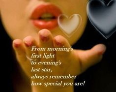 Always remember how special you are !!!
