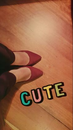 New heels!