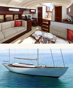 Fairlie 77 yacht