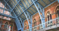 St. Pancras Station; London BLOG — Naomi Bills Photography