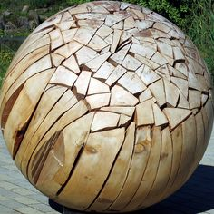 Shattered Sphere by Brent Comber