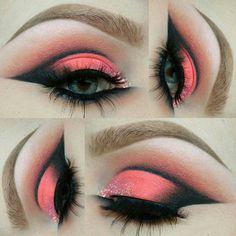 Makeup Goals, Makeup Tips, Eye Makeup Pictures, How To Wear Makeup, Cool Makeup Looks, Dressing, Make Up Art, War Paint, Makeup Trends