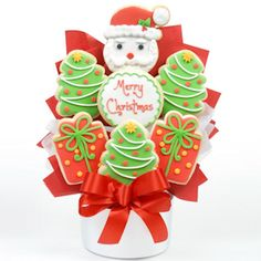 Christmas cookie bouquet Ideas - many others | Creative gifting ...