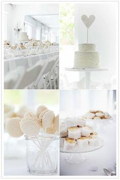 stunning, love macarons on sticks! #white #sugar #wedding