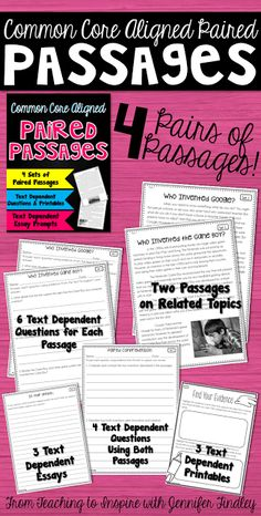Implementing Rigorous Paired Passage Instruction - Teaching to Inspire with Jennifer Findley