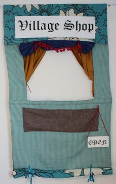 Doorway Puppet Theater and Shop toy
