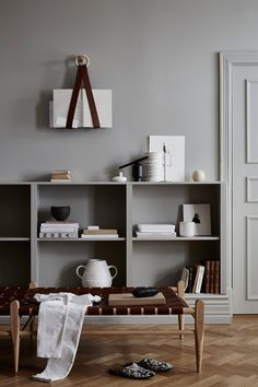 Discover the Beautiful Leather Furniture and Accessories by Swedish Design Studio Smålands Skinnmanufaktur