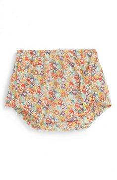 Peek 'Simple' Floral Print Bloomers (Baby Girls)