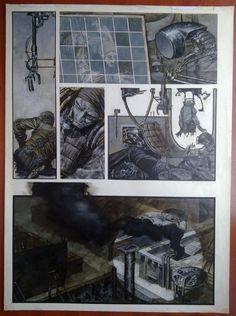 Phil Hale !!!! Comic Art