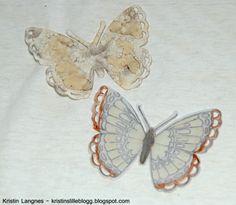 Kristins lille blogg: Krympede sommerfugler