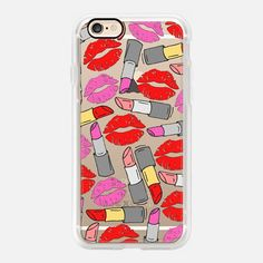 Lipstick & Lips - Classic Grip Case