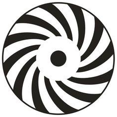 Crop circle spiral