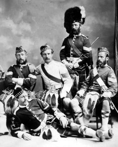 78th Highlanders...read about them in the Bernard Cornwell Sharpe's novels...or the actual hxs. of the Indian Mahratta wars...makes me wish I could channel my Scottish blood and wield a claymore!