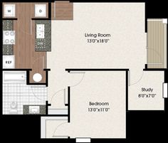 Luxury Apartment Floor Plans Chenal Pointe Little Rock Ar 1 Bedroom W Office 815 Sq Ft Floor Plans Apartment Floor Plans Luxury Apartments
