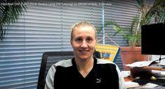 Handball EM 2016 Schweden: Saskia Lang (HC Leipzig) im SPORT4FINAL-Video-Interview. Handball EM 2016 Schweden: Saskia Lang (HC Leipzig) aus der deutsc ...